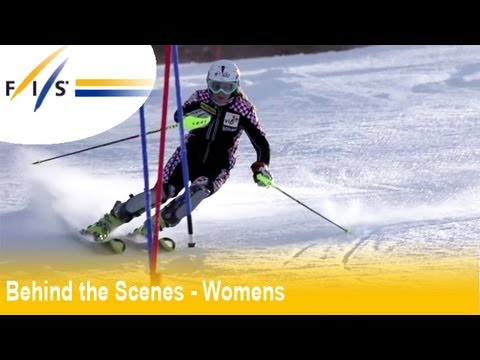 Zagreb 2012 Slalom - Audi FIS Ski World Cup 2012 - Behind the Scenes Womens