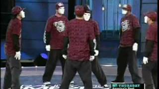 Jabbawockeez Audition Performance