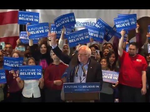 Bernie Sanders calls on California to 'lead the political revolution'