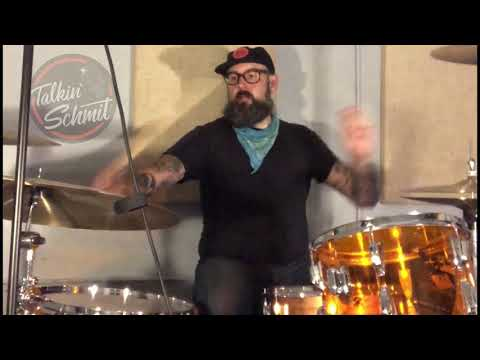 "Andy Granelli Drums to The Distillers Song ""City Of Angels"""