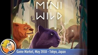 Mini Wild (Piece Craft) — game preview at Tokyo Game Market (May 2018)