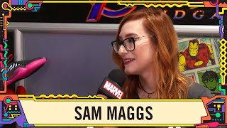 Sam Maggs on writing Captain Marvel at SDCC 2019!