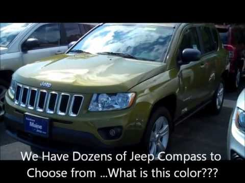2011 jeep compass 2wd start up quick tour rev with for Southern maine motors saco maine