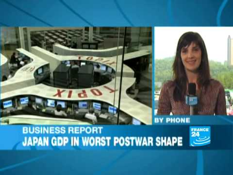 Japan GDP in worst postwar shape