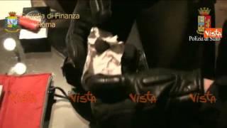 video (Agenzia Vista) - Roma, 20 gennaio - Operazione anti 'Ndrangheta di Polizia e Giardia di Finanza a Roma a cura di Alexander Jakhnagiev VISTA Agenzia Televisi...