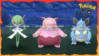 CONSIGO TRES SHINIES en 24h DURANTE EL EVENTO de NIDORAN SHINY !! - Pokemon Go