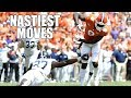 Nastiest Moves (hurdles - Jukes - Spin Moves - & Stiff Arms) Of The 2018-19 College Football Season ᴴᴰ