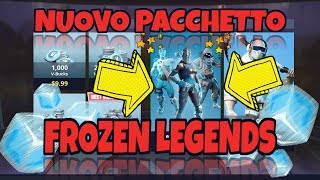 The New Frozen Legends Bundle Unlocked In Fortnite