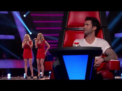 The Morgan Twins - Fallin' - The Voice US - YouTube