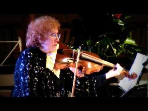 Grieg Cello sonata (2nd Mvt) - Rivka Golani, Michael Hampton..