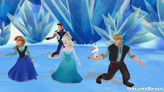 Frozen dancing to Just Give Me a Reason [MMD]