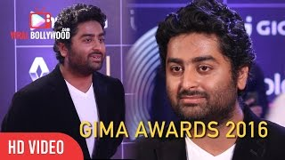 Arijit Singh At GIMA Awards 2016 | Global Indian Music Academy | Viralbollywood