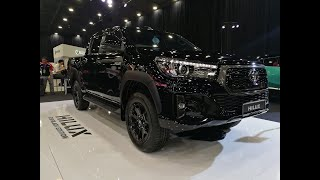 2019 Toyota Hilux 2.8 Black Edition Facelift Full Walkaround | EvoMalaysia.com