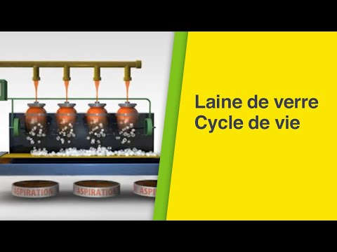 Laine de verre cycle de vie youtube - Fabrication laine de verre ...