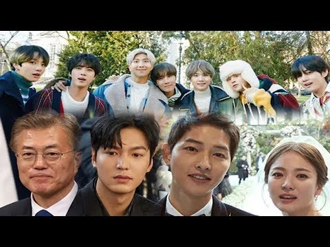 BTS, Lee Min Ho, Song Hye Kyo: Leading the Top 20 representatives of Korea worldwide!