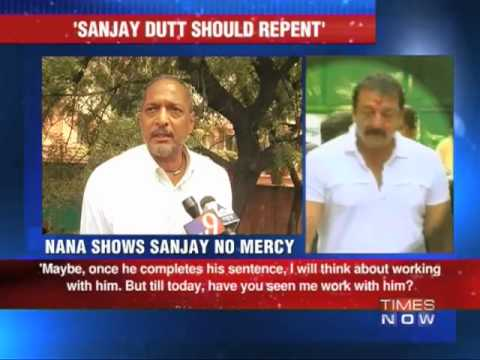 Nana Patekar shows no mercy to Sanjay Dutt