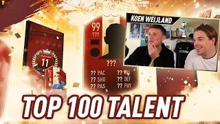 NEDERLANDSE PROFVOETBALLER HAALT 30/0! | TOP100 TALENT #20 SAM | KOEN WEIJLAND FIFA19