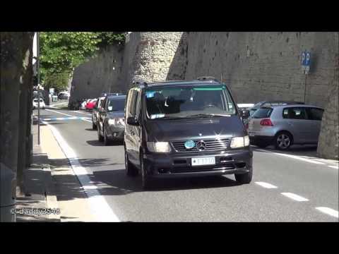 Scorta Presidente Napolitano a San Marino - Italian President Motorcade in San Marino