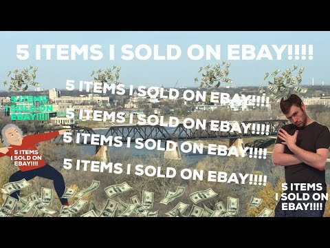 What Sold On EBay : 5 Items I Sold Fast Today On EBay