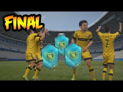 FIFA 16 - Final del Torneo Aniversario FUT - Uniforme + Sobres de Regalo