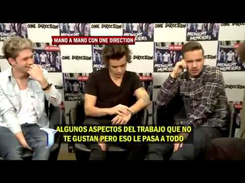 Full Interview with One Direction | ARGENTINA | Por Bebé Contepomi