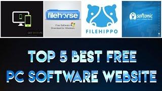 Top 5 Best Free PC Software Website (2017)
