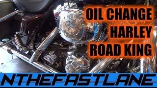 "Oil Change Harley Road King Custom 05 ""How To"""