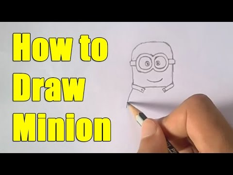 How to Draw Minion step by step easy