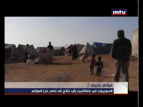 Syrian Pessimistic about Geneva 2 Peace Talks - MTV Lebanon News – Jean Nakhoul – 13-01-2014