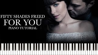 Download Lagu Liam Payne & Rita Ora - For You (Fifty Shades Freed) (Piano Tutorial & Sheets) Gratis STAFABAND