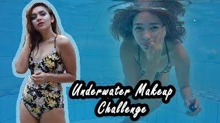 UNDERWATER MAKEUP CHALLENGE! (KALOKA TO! NAKAKALUNOD!)