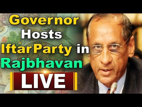 Governor Narsimhan Hosts Iftar Party at Raj Bhavan | KCR
