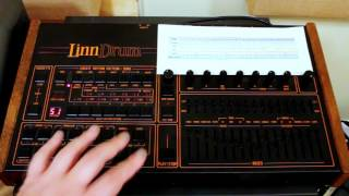 'You Spin Me Round' LinnDrum pattern