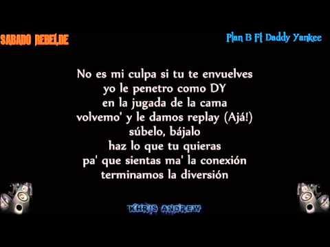 Sabado Rebelde Plan B Ft Daddy Yankee video con Letra