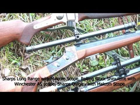 Shooting Pedersoli 45-70 Sharps and Rolling Block rifles