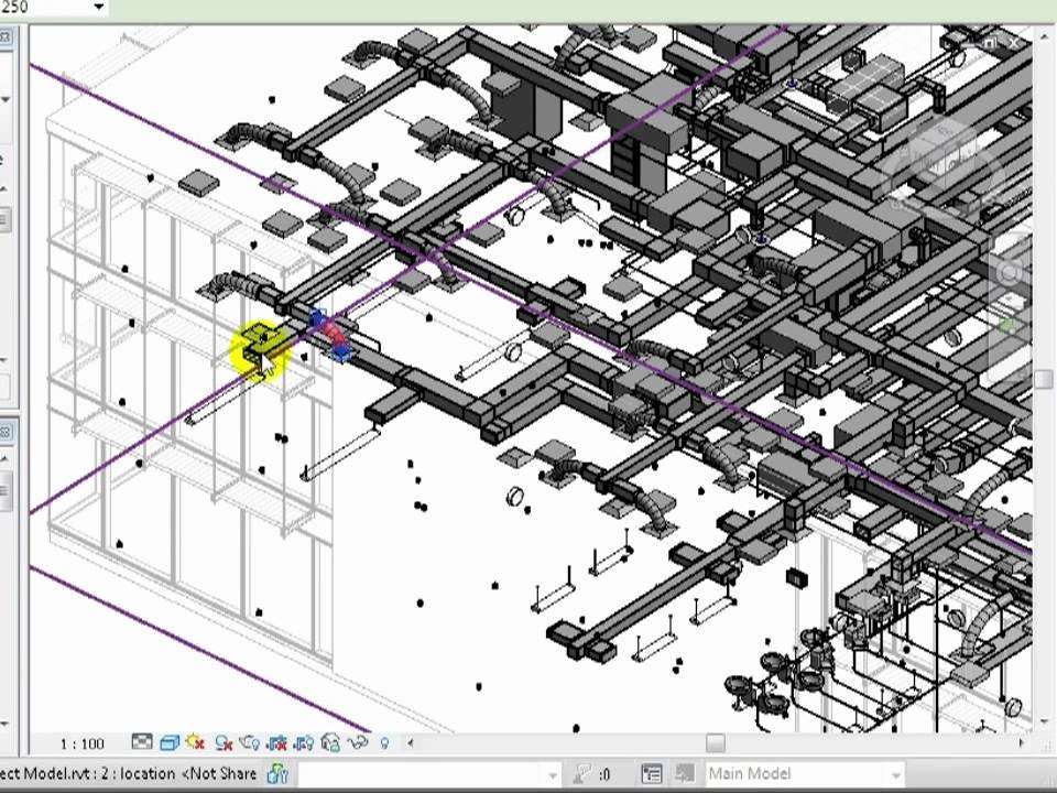 basic hydraulic schematics revit mep 2012 tutorial viewing models in 3d youtube  revit mep 2012 tutorial viewing models in 3d youtube
