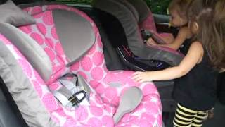 I Just Became A Minivan Mama + The Girls Start Forward-Facing In New Car Seats At Almost 31 Months!