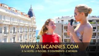 ART IN FUSION TV - 3.14 Cannes Hotel - Interview