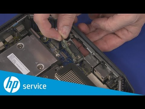 Remove and Replace the Option Board | HP Z2 Mini G3 and G4 Workstations | HP