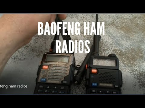 Baofeng ham radios