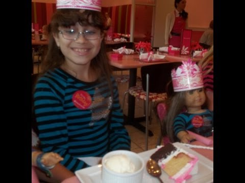 My Birthday At American Girl Bistro Miami!