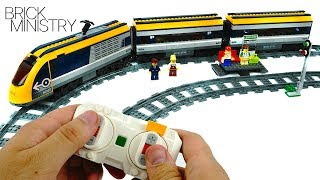 LEGO 60197 CITY ●  Passenger Train [Speed Build Review]