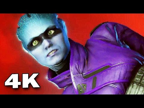 MASS EFFECT ANDROMEDA Gameplay 4K (PS4 Pro)