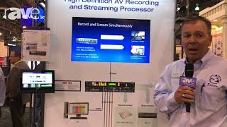 Educause 2017: Extron Demos SMP 351 Series Live Streaming Media Encoder and Recorder