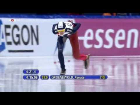 Martina Sablikova vs Renate Groenewold in Thialf