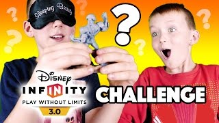 Disney Infinity Challenge Blindfold Guessing Game - What Character is it?