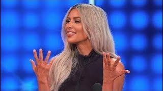 Kim & Kanye dress SEXY for THIS! | Celebrity Family Feud