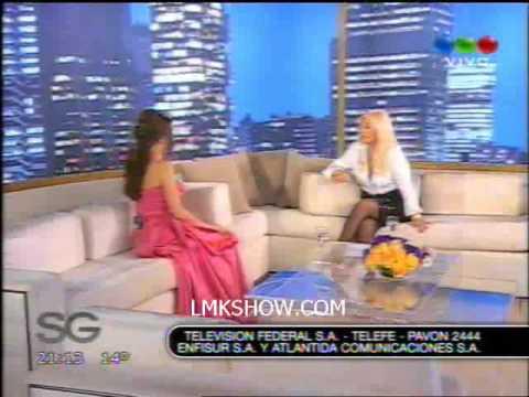 Natalia Oreiro embarazada con Susana Gimenez