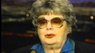 SHELLEY WINTERS ~ Interview Tom Snyder Show (1996) pt 1