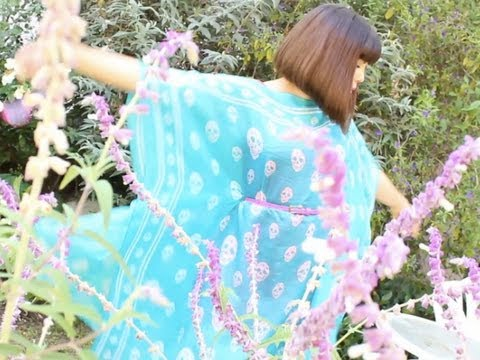 DIY Summer Caftan Dress, ThreadBanger How-to